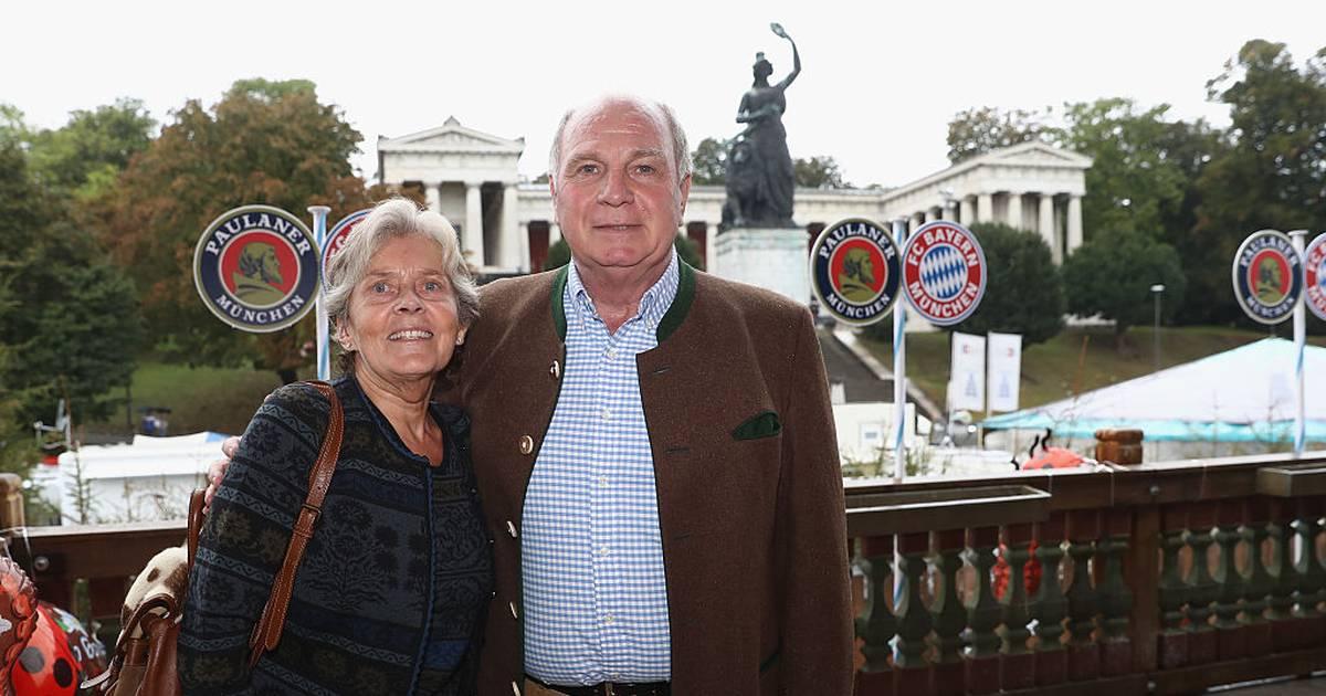FC Bayern: Uli Hoeneß reist mit Frau Susi zum Chelsea-Spiel nach London