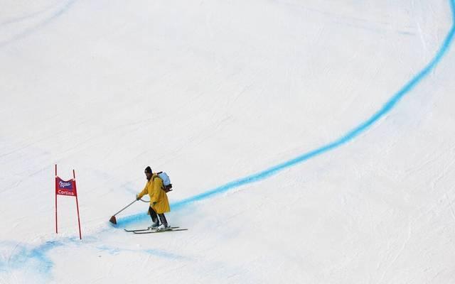 Ein Helfer bei der Ski-WM hat sich schwerer verletzt