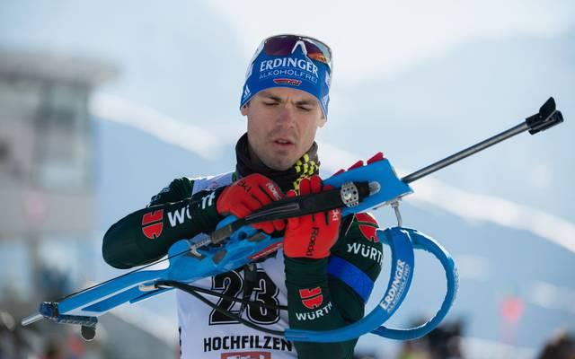 Simon Schempp kehrt nach seinem WM-Aus zurück in den Biathlon-Weltcup