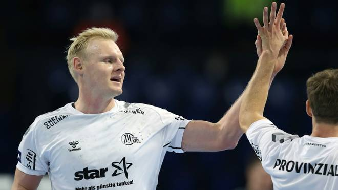 Sieg in der CL: Wiencek und der THW Kiel