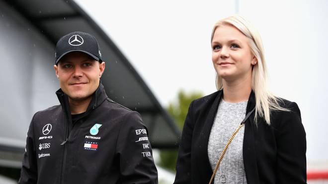 Valtteri Bottas und seine Frau Emilia trennen sich