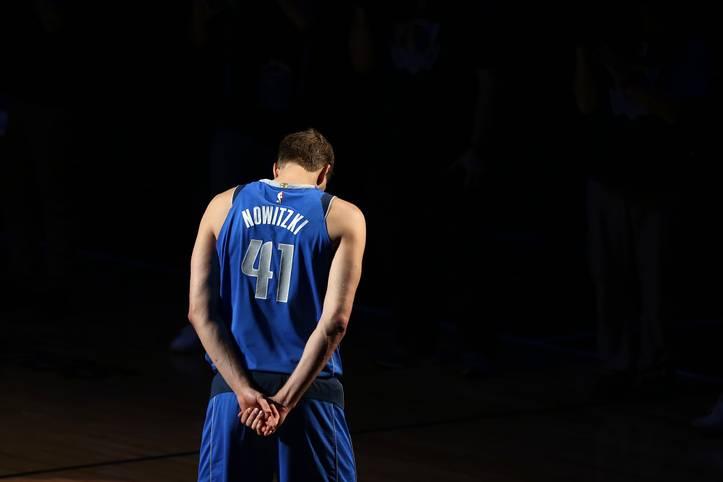 Am 19. Juni feiert Dirk Nowitzki Geburtstag - und auch wenn in diesem Jahr kein rundes Jubiläum ansteht, so ist es doch ein besonderer Ehrentag. Denn: 2019 wird Nowitzki 41 und erreicht damit die Zahl, mit der er jahrelang NBA-Geschichte schrieb