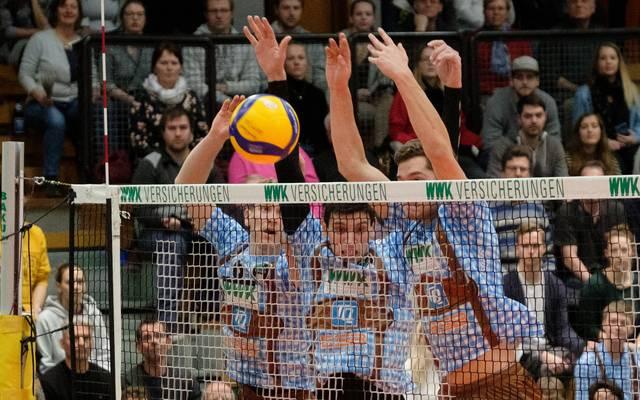 Die WWK Volleys Herrsching feierten im Duell mit dem direkten Konkurrenten aus Lüneburg einen klaren Sieg