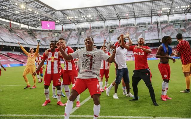 RB Salzburg ist zum siebten Mal in Folge österreichischer Meister