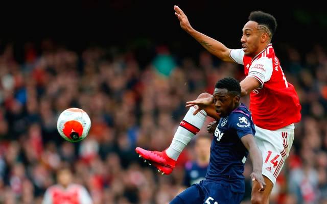 Pierre-Emerick Aubameyang spielt seit 2018 beim FC Arsenal