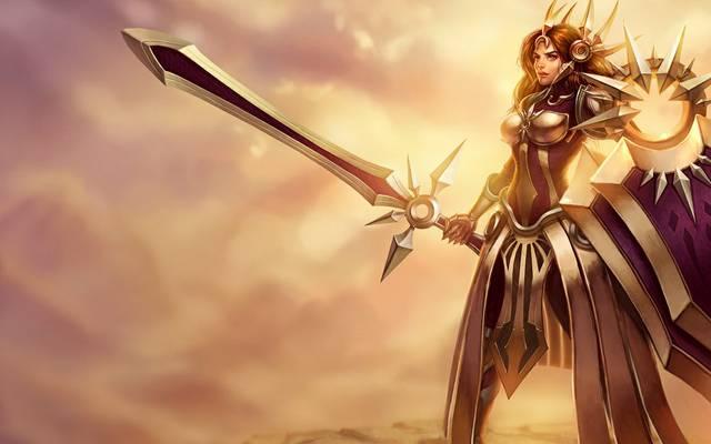 """Das neue Legends-of-Runeterra-Schlüsselwort """"Tagesanbruch"""" steht in direkter Verbindung zu Leona und ihren Solari-Anhängern"""