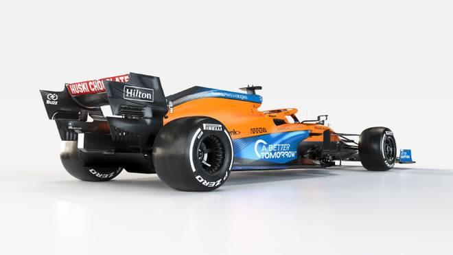Mit diesem Boliden geht McLaren in die Formel-1-Saison 2021