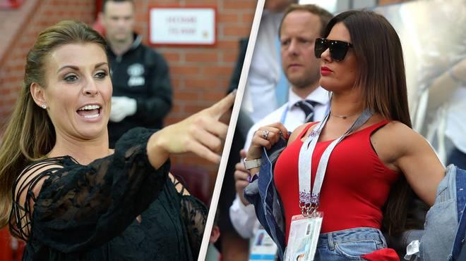 Coleen Rooney und Rebekah Vardy liegen im Clinch