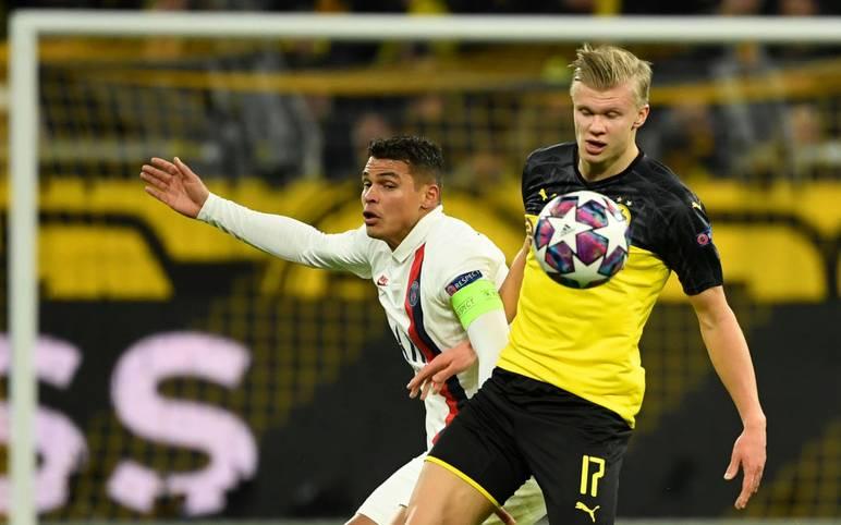 Erstmals ging Erling Haaland für den BVB in der Champions League auf Torejagd - und prompt traf er auch für seinen neuen Klub. Gegen Paris Saint-Germain gelangen dem Norweger sogar zwei Treffer. Damit schließt er zu einem Bayern-Star auf. SPORT1 zeigt die besten Torjäger der laufenden Champions-League-Saison