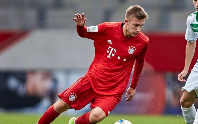Torben Rhein zählt zu den größten Talenten des FC Bayern