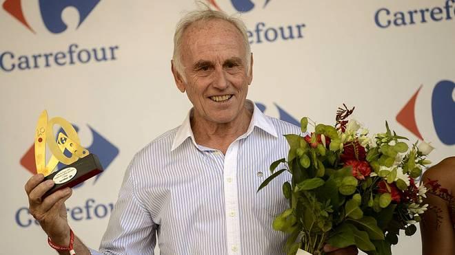 Der Niederländer Joop Zoetemelk ist auch in hohem Alter noch regelmäßiger Gast in der Radsportwelt