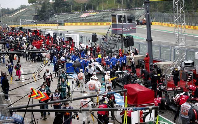 Nicht jeder Mitarbeiter im Formel-1-Zirkus verdient gut