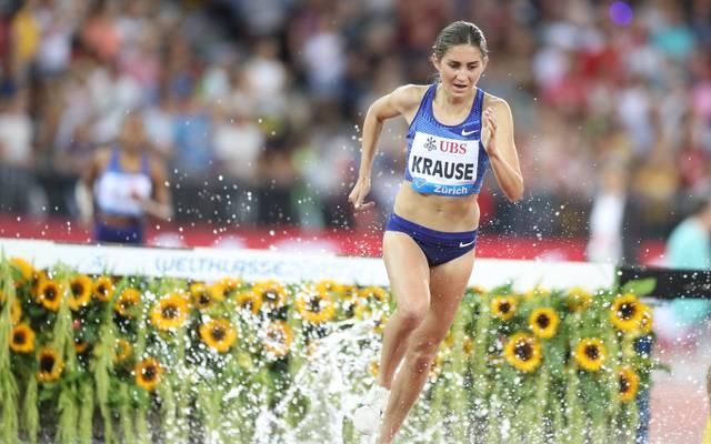 Gesa Felicita Krause hält sich an ihren Olympia-Plan, obwohl die Spiele auf der Kippe stehen