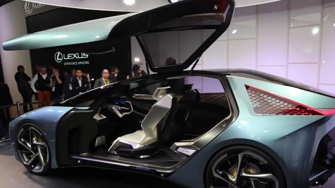 Macht hoch die Tür: Spektakuläre Flügeltürer-Studie von Lexus.