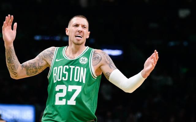 Daniel Theis durfte mit den Boston Celtics mal wieder in der Fremde jubeln