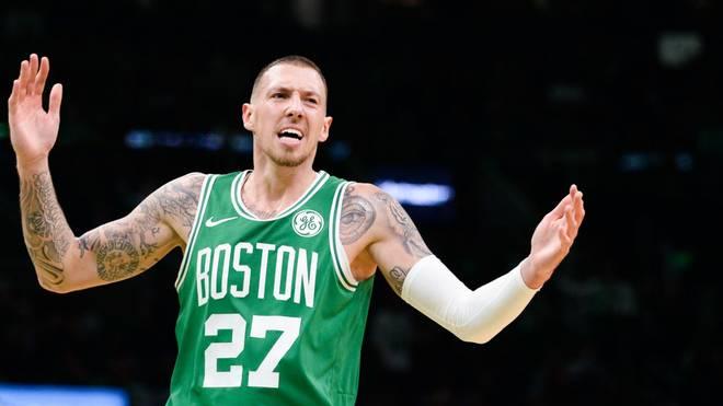 Daniel Theis reist mit den Boston Celtics zu den Houston Rockets