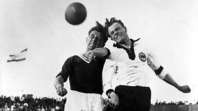 Am 26. Mai 1931 verlor Deutschland in Österreich mit 0:6