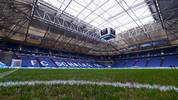 Die Veltins Arena auf Schalke in der Innenansicht