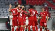 Der FC Bayern steht zum dritten Mal in Folge im Finale des DFB-Pokals