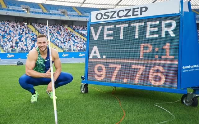Johannes Vetter wurde zum Sportler des Monats September gewählt