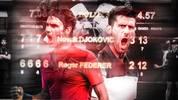 Roger Federer und Novak Djokovic treffen zum 50. Mal aufeinander