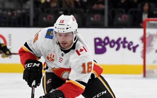 Tobias Rieder steuerte einen Assist beim Sieg der Calgary Flames gegen Colorado Avalanche bei