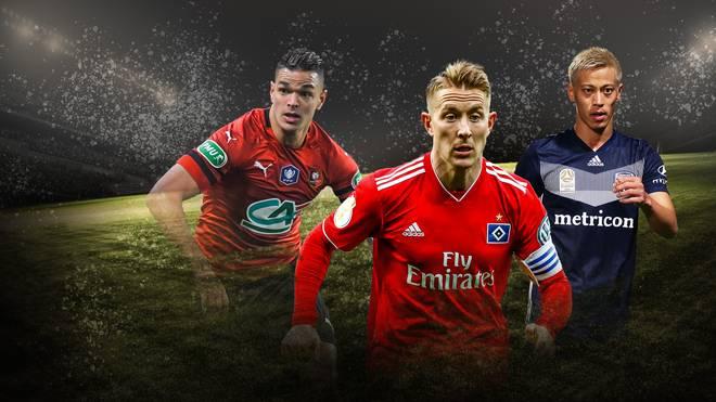 Ben Arfa, Holtby und Honda suchen derzeit einen neuen Verein