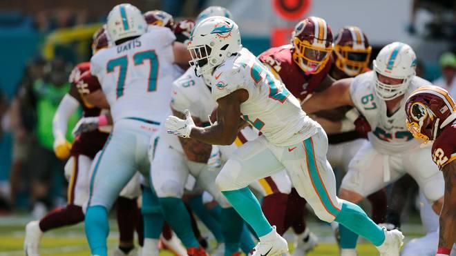 Die Miami Dolphins warten weiter auf den ersten Saisonsieg
