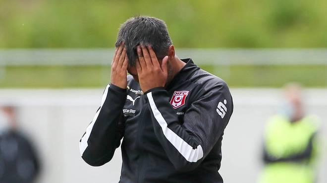 Die Bilanz von Ismail Atalan als Trainer des Halleschen FC: ein Punkt aus fünf Spielen