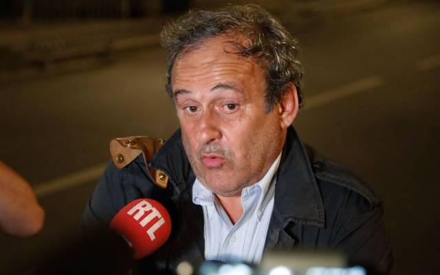 Michel Platini droht Ärger von der FIFA