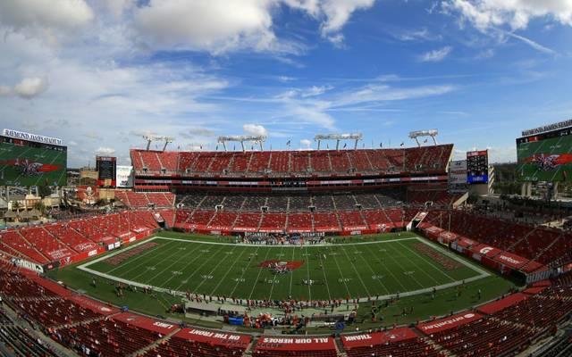 Der Super Bowl findet in Tampa statt