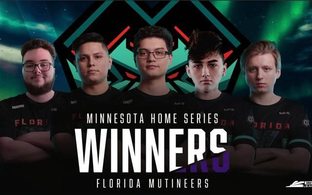 Die Florida Mutineers gewinnen die Home Series in Minnesota