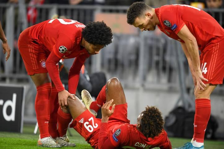Die Verletzungsseuche von Kingsley Coman nimmt einfach kein Ende. Der Franzose verletzt sich im Champions-League-Spiel des FC Bayern gegen Tottenham Hotspur und muss zum wiederholten Male länger aussetzen