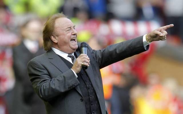 Gerry Marsden sang seine Hymne bereits vor Spielen des FC Liverpool