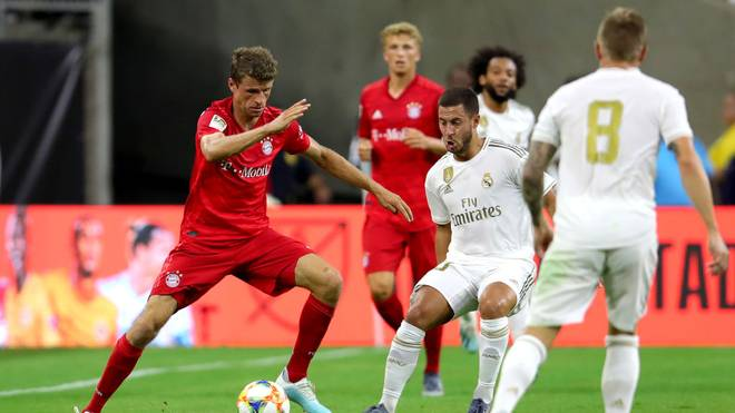 Der FC Bayern und Real Madrid werden sich beim Europäischen Solidaritäts Cup duellieren