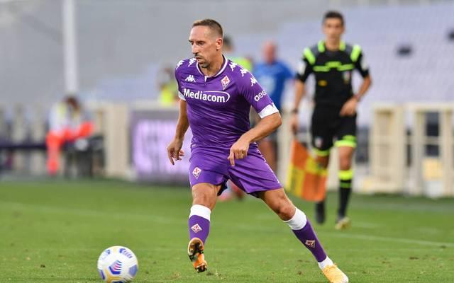 Franck Ribéry geht in seine zweite Saison bei Fiorentina