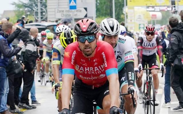 Sonny Colbrelli feierte bei der Tour de Romandie seinen ersten Saisonsieg