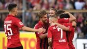 Der SC Freiburg schlägt RB Leipzig mit 2:0 und ist Tabellenzweiter