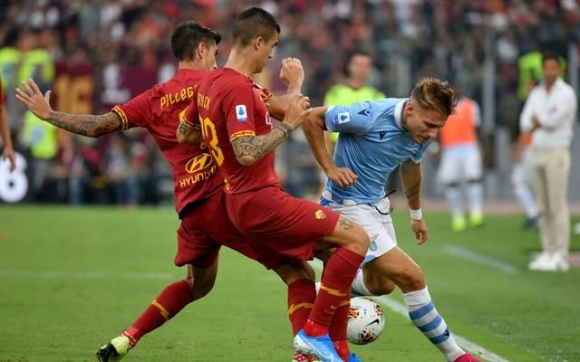 Bei Spielen zwischen Lazio und AS Rom herrscht stets eine besondere Brisanz