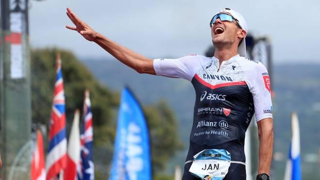 Jan Frodeno gewann im vergangenen Jahr dem Ironman auf Hawaii