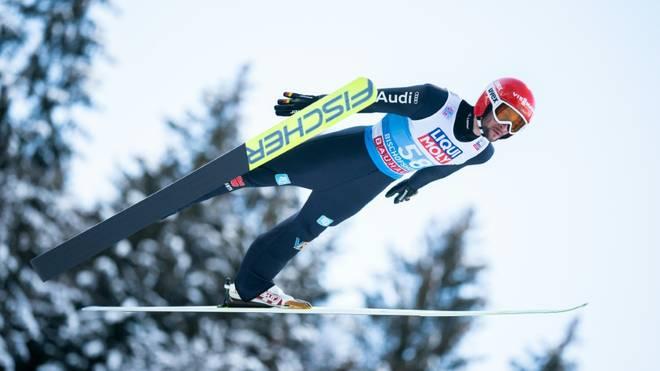 Markus Eisenbichler belegt Platz drei
