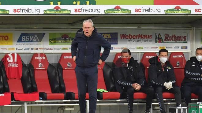 Christian Streich war nach der Pleite gegen Mainz ziemlich angesäuert