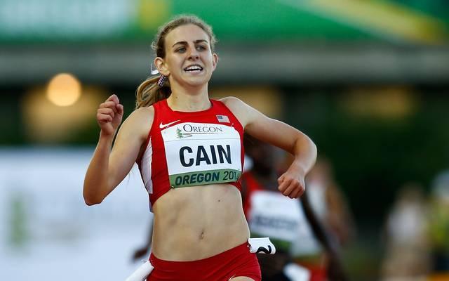 Mary Cain wurde in den USA als Wunderläuferin gefeiert