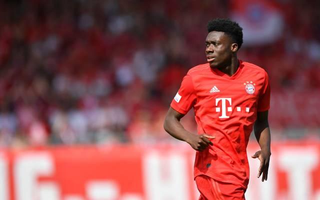 Alphonso Davies gehörte zuletzt zum Stammpersonal des FC Bayern