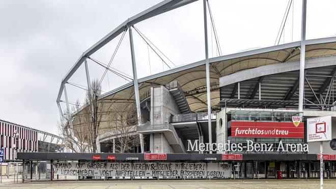 Der VfB Stuttgart durchlebt stürmische Zeiten