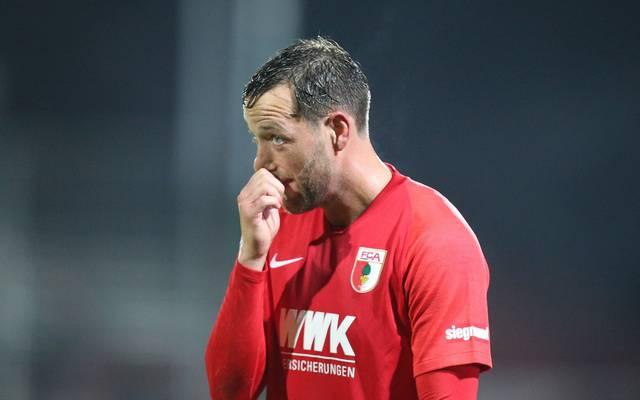 Julian Schieber wird bei den Profis des FC Augsburg nicht mehr gebraucht