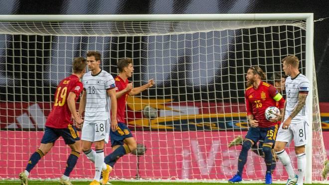 Deutschland verliert 0:6 gegen Spanien
