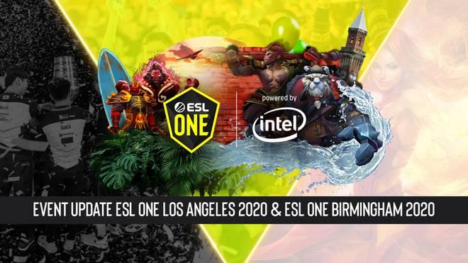 COVID-19: neues Format der ESL One LA und Birmingham