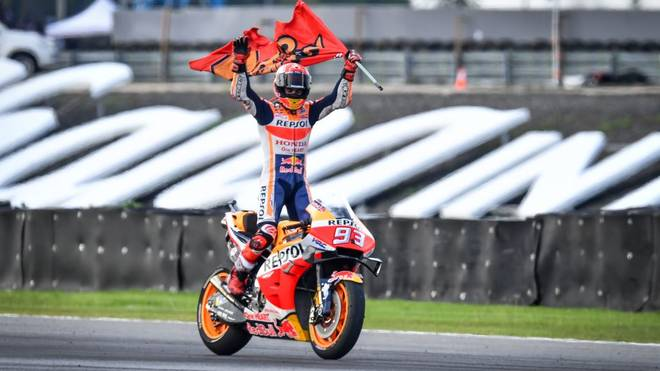 Marc Márquez durfte in Japan seinen zehnten Saisonsieg bejubeln