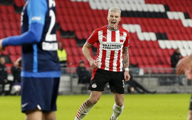 Philipp Max traf für PSV Eindhoven bei der Niederlage gegen AZ Alkmaar